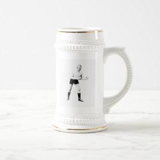 opcDesigns vintages de Stein de lutteur de boxeur Mug À Café