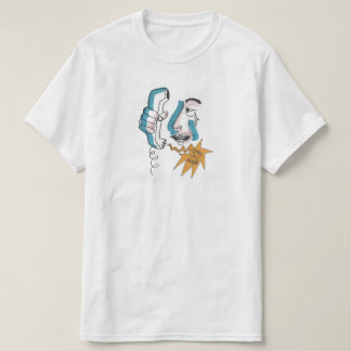 Opérateur de téléphone t-shirt