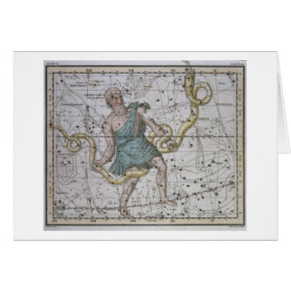 Ophiuchus ou Serpentarius, 'd'un atlas céleste Cartes