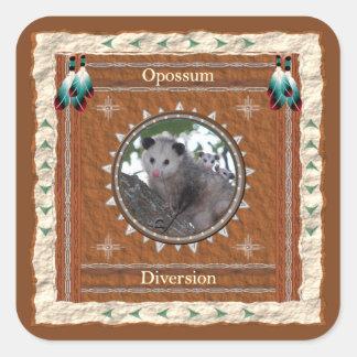 Opossum - autocollants de déviation - 20 par