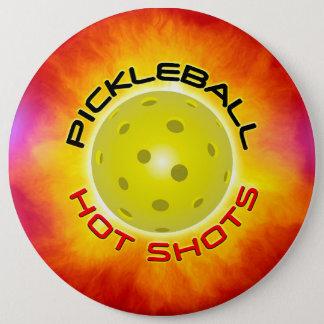 Options chaudes d'image des tirs 1 de Pickleball Pin's