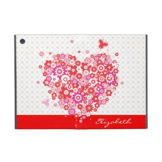 Options de Powiscase du coeur 1 de fleur Étui iPad Mini