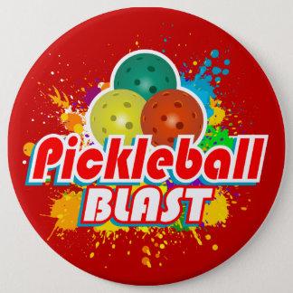 Options d'image du souffle 1 de Pickleball Badge
