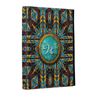 Options folio de cas d iPad moderne du Natif améri Coque iPad