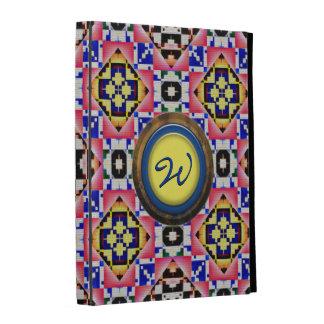 Options folio de cas d iPad moderne du Natif améri Étui iPad Folio