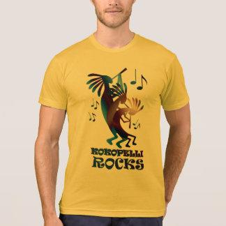 Or américain d'habillement de danse de Kokopelli T-shirt