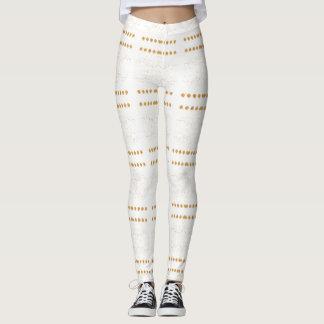 Or blanc leggings