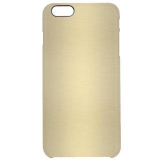 Or brillant élégant coque iPhone 6 plus