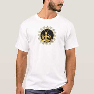 Or Cernunnos, TriQuatra, et houx - T-shirt