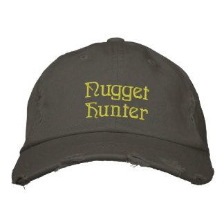 Or de chasseur de pépite prospectant le casquette casquette brodée