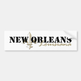 Or de la Nouvelle-Orléans Louisiane Autocollant Pour Voiture