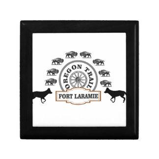 or de Laramie de fort Boîte À Souvenirs