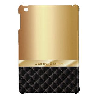 Or de luxe avec le mini cas d'iPad nommé fait sur
