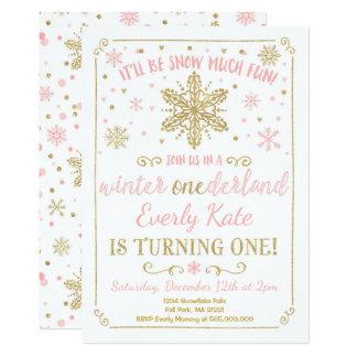 Or de rose d'invitation d'anniversaire carton d'invitation  12,7 cm x 17,78 cm