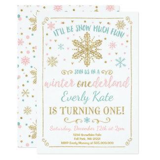 Or de Teal d'invitation d'anniversaire Carton D'invitation 12,7 Cm X 17,78 Cm