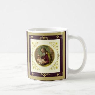 Or décoratif de Jésus de St Joseph et d'enfant Mug