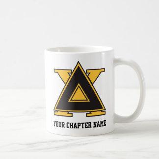 Or d'insigne de Chi de delta Mug