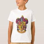 Or et rouge de crête de Gryffindor T-shirt