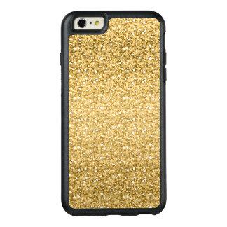 Or et scintillement de blanc coque OtterBox iPhone 6 et 6s plus