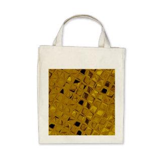 Or jaune métallique brillant qui respecte sacs