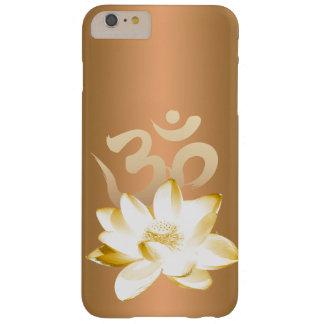 Or Lotus et yoga de symbole de l'OM Coque iPhone 6 Plus Barely There