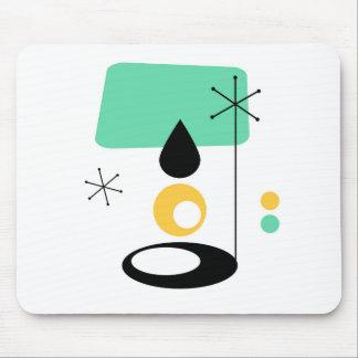 or moderne de bleu de conception de lampe de la tapis de souris