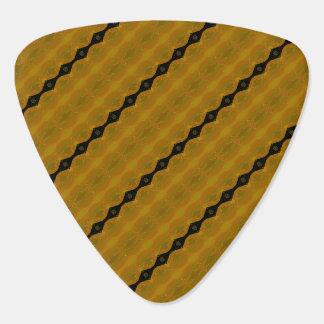 Or noir et rayure abstraite moderne olive onglet de guitare