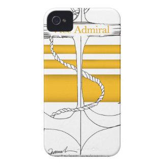 or Vice-amiral, fernandes élégants Coques iPhone 4