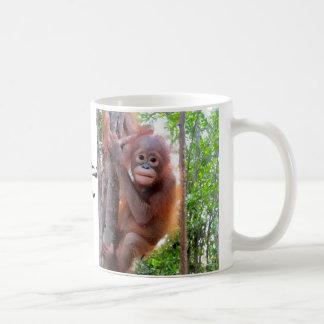 Orang-outan Uttuh de bébé Mug
