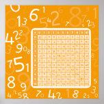 orange 1x1 posters