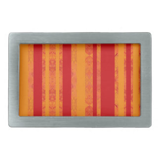orange boucles de ceinture rectangulaires