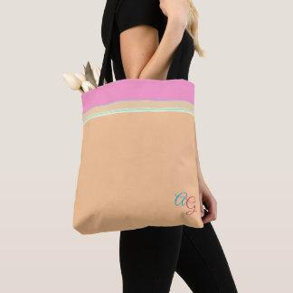 Orange chique avec l'Aqua rose > assez sacs