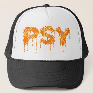 Orange de casquette de Psy