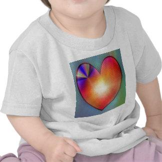 Orange de coeur créée par Tutti T-shirt