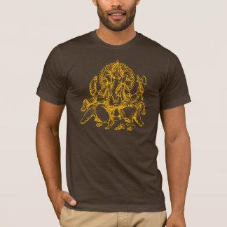 Orange de détail de Ganesh T-shirt