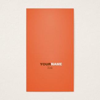 Orange de Groupon Cartes De Visite