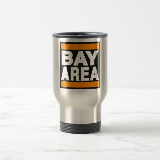 Orange de région de baie mug de voyage