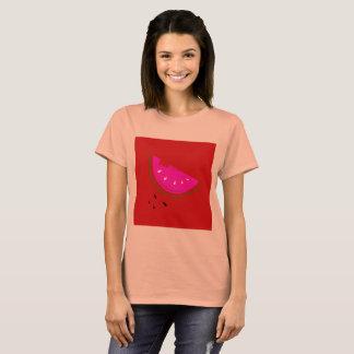 Orange de T-shirt de concepteurs avec la pastèque