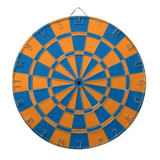 Orange et bleu jeux de fléchettes