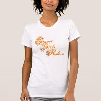 Orange futée de règle de filles t-shirt