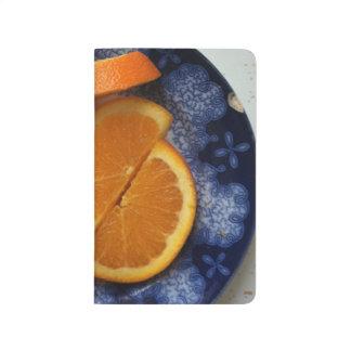Orange vous heureux calepin