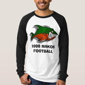 OrangeCountyMakos2, le FOOTBALL de 2008 MAKOS T-shirt