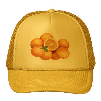 Oranges Casquette De Camionneur