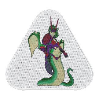 Orateur de Gorgon, serpent mythique de femme Haut-parleur Bluetooth