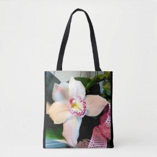 Orchidée blanche de Cymbidium Tote Bag