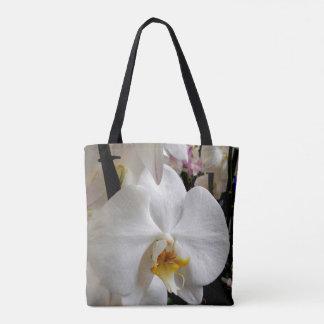 Orchidée blanche sac