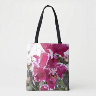 Orchidée pourpre sac