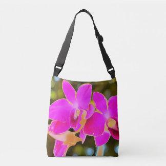 Orchidée rose sac ajustable