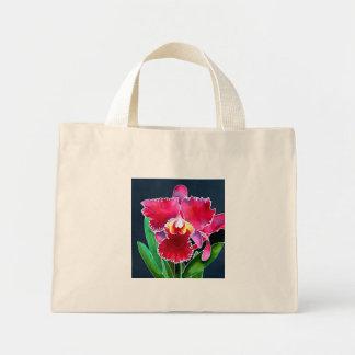 Orchidée rose simple sacs en toile
