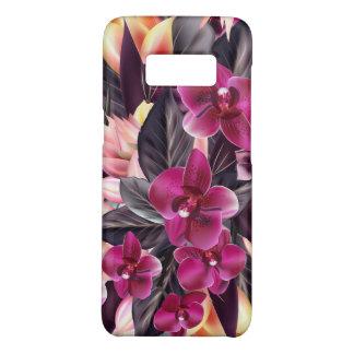 Orchidées. Conception tropicale avec de belles Coque Case-Mate Samsung Galaxy S8